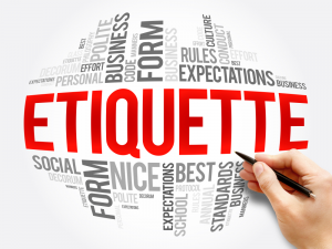 Talent Exchange Etiquette